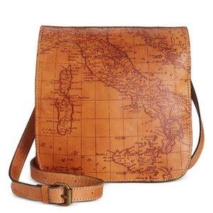 NWT Patricia Nash Granada Crossbody Leather Bag